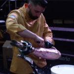 antonio ortuño cortador de jamon profesional