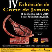 IV exhibición corte de jamón
